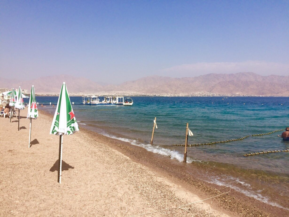 Dekel Beach In Eilat